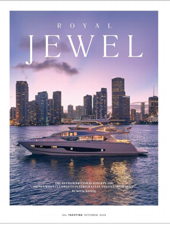 Pearl 80 - Pearl Yachts